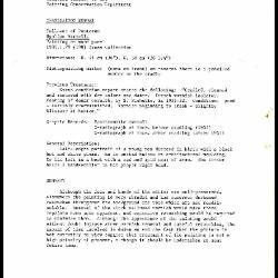 Image for K0173 - Examination summary, 1984