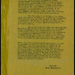 Image for K0235 - Alan Burroughs report, circa 1930s-1940s