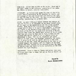 Image for K0100 - Alan Burroughs report, circa 1930s-1940s