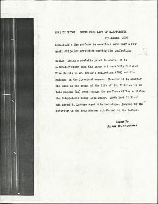 Image for K1003 - Alan Burroughs report, circa 1930s-1940s
