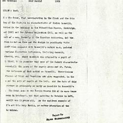 Image for K1002 - Alan Burroughs report, circa 1930s-1940s