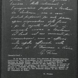 Image for K1013 - Expert opinion by Fiocco, circa 1930s-1940s