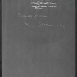 Image for K1013 - Expert opinion by Berenson, circa 1920s-1950s