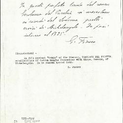 Image for K1008 - Expert opinion by Fiocco, circa 1930s-1940s