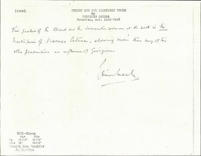 Image for K1006 - Expert opinion by Marle, circa 1920s-1930s