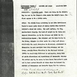 Image for K1009 - Alan Burroughs report, circa 1930s-1940s