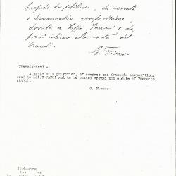 Image for K1014 - Expert opinion by Fiocco, circa 1930s-1940s