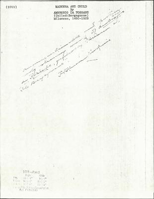 Image for K1011 - Expert opinion by Perkins, circa 1920s-1940s