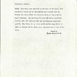 Image for K1024 - Alan Burroughs report, circa 1930s-1940s