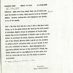 Image for K1026 - Alan Burroughs report, circa 1930s-1940s