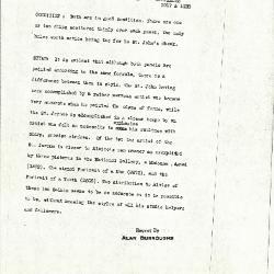 Image for K1017 - Alan Burroughs report, circa 1930s-1940s
