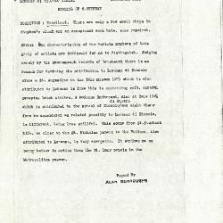 Image for K1016 - Alan Burroughs report, circa 1930s-1940s