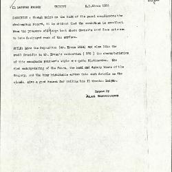 Image for K1025 - Alan Burroughs report, circa 1930s-1940s