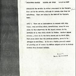 Image for K1027 - Alan Burroughs report, circa 1930s-1940s