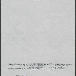 Image for K1031 - Art object record, circa 1930s-1950s
