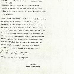 Image for K1029 - Alan Burroughs report, circa 1930s-1940s