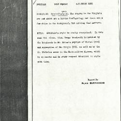 Image for K1032 - Alan Burroughs report, circa 1930s-1940s