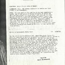 Image for K0104 - Alan Burroughs report, circa 1930s-1940s