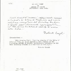 Image for K0103 - Expert opinion by Longhi, circa 1920s-1950s