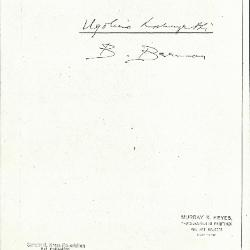 Image for K1045 - Expert opinion by Berenson, circa 1920s-1950s