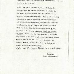 Image for K1054 - Alan Burroughs report, circa 1930s-1940s