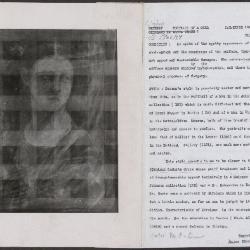 Image for K1051 - Alan Burroughs report, circa 1930s-1940s