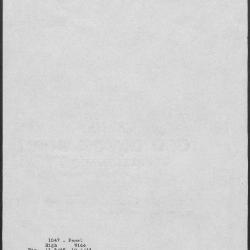 Image for K1047 - Art object record, circa 1930s-1950s