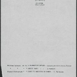 Image for K1054 - Art object record, circa 1930s-1950s