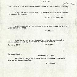Image for K0105 - Expert opinion by Fiocco et al., circa 1930s-1940s
