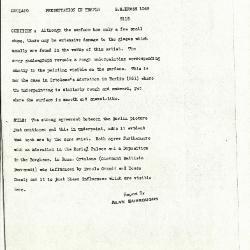 Image for K1048 - Alan Burroughs report, circa 1930s-1940s
