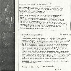 Image for K1063 - Alan Burroughs report, circa 1930s-1940s