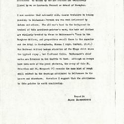Image for K1059 - Alan Burroughs report, circa 1930s-1940s