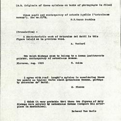 Image for K1062A - Expert opinion by Fiocco et al., circa 1930s-1940s