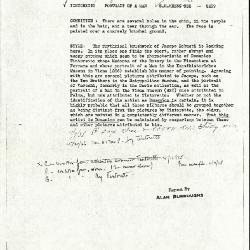 Image for K1068 - Alan Burroughs report, circa 1930s-1940s