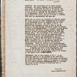 Image for K1062A - Alan Burroughs report, circa 1930s-1940s