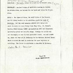 Image for K1056 - Alan Burroughs report, circa 1930s-1940s