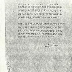 Image for K1071 - Alan Burroughs report, circa 1930s-1940s