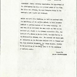 Image for K1081 - Alan Burroughs report, circa 1930s-1940s