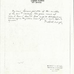 Image for K1085 - Expert opinion by Longhi, circa 1920s-1950s