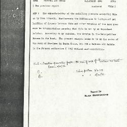 Image for K1069 - Alan Burroughs report, circa 1930s-1940s