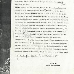 Image for K1078X - Alan Burroughs report, circa 1930s-1940s