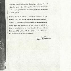 Image for K1085 - Alan Burroughs report, circa 1930s-1940s
