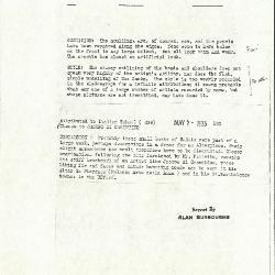 Image for K1074 - Alan Burroughs report, circa 1930s-1940s