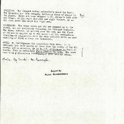 Image for K1077X - Alan Burroughs report, circa 1930s-1940s