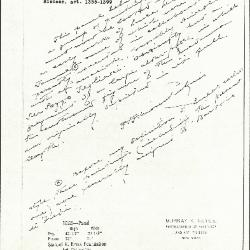 Image for K1085 - Expert opinion by Perkins, circa 1920s-1940s