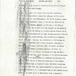 Image for K1083 - Alan Burroughs report, circa 1930s-1940s