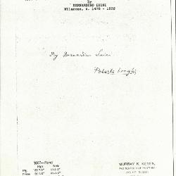 Image for K1087 - Expert opinion by Longhi, circa 1920s-1950s