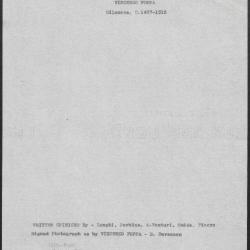 Image for K1092 - Art object record, circa 1930s-1950s