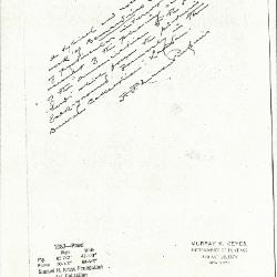 Image for K1087 - Expert opinion by Perkins, circa 1920s-1940s