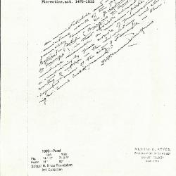 Image for K1088 - Expert opinion by Perkins, circa 1920s-1940s